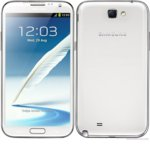 Калъф за Samsung 2/N7100, страничен с гръб, пластмаса, 50172, бял image