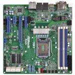 Дънна платка за сървър ASRock Rack C236M WS, LGA1151, поддържа DDR4 ECC UDIMM, 2x LAN1000, 8x SATA3 6.0Gb/s(RAID 0/1/5/10), 4x USB 3.0, mATX image
