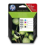 Мастило за HP OfficeJet Pro 6230/6830 - C/M/Y/BK - 934XL - P№ X4E14AE - 1 000/825k image