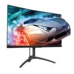 """Монитор AOC AG322QC4, 31.5""""(80.01 cm) VA панел, Quad HD, 4ms, 80M:1, 400 cd/m2, VGA, HDMI, DisplayPort image"""