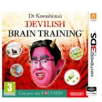 Dr Kawashimas Devilish Brain Training: Can you stay focused, за 3DS image