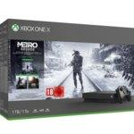 Конзола Xbox One X + Metro Bundle, 1TB, черна image