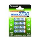 Батерии Panasonic, AA, 2700mAh, 1.2V, Ni-MH, 4 бр. image