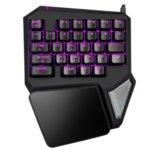 Клавиатура Delux T9 Pro, гейминг, подсветка, USB, черна image