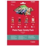 Фотохартия Canon Variety Pack VP-101, A4 & 10 x 15cm., гланцирана/матова/полугалнц, 20 листа image