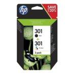 Глави за HP 301 - N9J72AE - Black + C/M/Y - заб.: 190k image