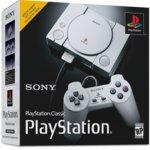 Конзола Sony PlayStation Classic, 2x контролера, 20 вградени игри, сива image