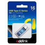 Памет 16GB USB Flash Drive, Addlink T80, USB 3.1, синя image