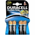 Батерии алкални Duracell Turbo