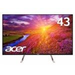 Монитор Acer , UM.ME0EE.010, 43'(109,22) , IPS панел, 3840x2160, 5ms, 100000000:1, 350 cd/m2, 2xHDMI/DisplayPort image