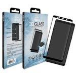 Протектор от закалено стъкло /Tempered Glass/, Eiger EGSP00143, за Samsung Galaxy Note 8, 3D, черна рамка image