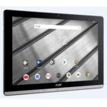 """Таблет Acer Iconia B3-A50-K0RM(NT.LF3EE.001)(сребрист), 10.1"""" (25.65 cm) HD IPS дисплей, четириядрен MTK MT8167 Cortex A35 1.30GHz, 2GB RAM, 32GB Flash памет (+ microSD слот), 5.0 & 2.0 камера, Android 8.1 Oreo, 550g image"""