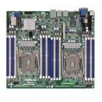Дънна платка за сървър ASRock Rack EP2C612D16FM-N, LGA2011, DDR4 RDIMM and LRDIMM, 3x LAN1000, 10x SATA 6Gb/s, 2x SATA 6Gb/s, RAID 0, 1, 5, 10, 2x USB 3.0, SSI CEB image