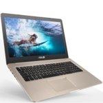 "Лаптоп ASUS VivoBook Pro 15 N580VN (N580VN-FY076), златист, четириядрен Kaby Lake Intel Core i7-7700HQ 2.80/3.80GHz, 15.6""(39.62 cm) Full HD IPS NVIDIA GeForce MX150 4GB GDDR5 (N17S-G1)(HDMI), 8GB DDR4, 1TB HDD, 1x USB 3.1 Type C, Linux, 1.99 kg image"