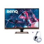BenQ EW2780U + MDR-XD150