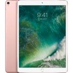 "Таблет Apple iPad Pro (2017)(MQF22HC/A)(розов), LTE, 10.5""(26.67 cm) Retina дисплей, шестядрен A10X 2.38 GHz, 4GB RAM, 64GB Flash памет, 12.0 & 7.0 Mpix камера, iOS, 477g image"