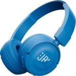 Слушалки JBL T450BT, безжични, микрофон, до 11 часа работа, сини image