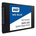 SSD 2TB Western Digital WDS200T2B0A, SATA 6Gb/s, скорост на четене 560MBs, скорост на запис 530MBs image