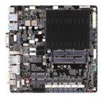 Дънна платка Gigabyte GA-N3160TN, вграден четириядрен Intel® Celeron® N3160 1.6/2.24 GHz, PCI-E(HDMI & D-Sub), поддържа DDR3L, 2x 1Gbe LAN, 2x SATA 6 Gb/s, 4x USB 3.0, Mini-ITX image