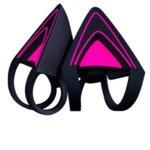 Уши за слушалки Razer Kitty Ears за Razer Kraken - Purple, лилави/черни image