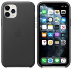 Apple Leather case iPhone 11 Pro black MWYE2ZM/A