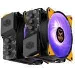 Охлаждане за процесор CoolerMaster MasterAir MA620P TUF Gaming Edition, съвместимост с LGA 2066/2011-v3/2011/1366/1156/1155/1151/ 1150/775 & AM4/AM3(+)/AM2(+)/FM2(+)/FM1 image
