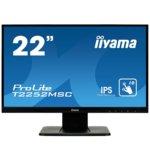 """Монитор Iiyama T2252MSC-B1, 21.5""""(54.61 cm) IPS touch панел, Full HD, 7ms, 5M:1, 250 cd/m2, VGA, HDMI, DisplayPort image"""