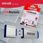 32GB USB Maxell Metalz, USB 3.0, метална, сребриста image