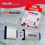 32GB USB Flash Drive, Maxell Metalz, метална, USB 3.0, сребриста image