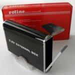 """Кутия Roline 16.01.4290, за 2.5"""" (6.35 cm) HDD/SSD, PATA (IDE) към USB 2.0 Type B, черна image"""