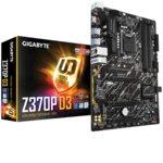 Дънна платка Gigabyte Z370P D3, Z370, LGA1151, DDR4, PCI-E (CFX), 6x SATA 6Gb/s, 1x M.2 slot, 4x USB 3.1 Gen 1, ATX image