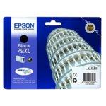 Касета за Epson WorkForce Pro WF-4630DWF/WF-4640DTWF/WF-5110DW/WF-5190DW/WF-5620DWF/WF-5690DWF - Black - 79XL DURABrite Ultra Ink - P№ C13T79014010 - Заб.: 2 600k image