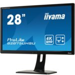"Монитор Iiyama Prolite B2875UHSU-B1, 28""(71.12 cm) TN панел, Full HD, 1ms, 20 000 000:1, 300 cd/m2, HDMI, DisplayPort, DVI, VGA image"