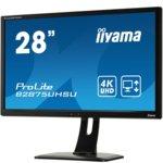 "Монитор Iiyama Prolite B2875UHSU-B1, 28""(71.12 cm) TN панел, Full HD, 1ms, 20 000 000:1, 300 cd/m2, HDMI, DisplayPort, DVI, VGA image"