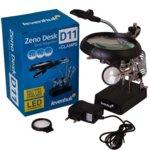 Лупа Levenhuk Zeno Desk D11, 10x увеличение, 5 светодиодни лампи image