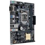 Дънна платка Asus H110M-K, H110, LGA1151, DDR4, PCI-E(DVI&D-Sub), 4x SATA 6Gb/s, 2x USB3.0, mATX image
