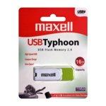 16GB USB Flash Drive, Maxell Typhoon, USB 2.0, зелена image