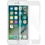 Протектор от закалено стъкло /Tempered Glass/, за Apple iPhone 7 plus, 5D, бяла рамка image