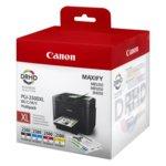 ГЛАВА CANON Maxify MB5350/MB5050/IB4050 - Black, Cyan, Magenta, Yellow - PGI-2500XL + калкулатор image