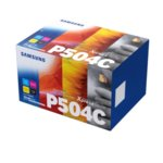 Касета за Samsung CLT-P504C - Cyan/Magenta/Yellow/Black - SU400A - 4 Pack - заб.: 1800k image