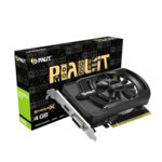 Видео карта nVidia GeForce GTX1650, 4GB, Palit GeForce GTX 1650 StormX, PCI-E 3.0, GDDR5, 128Bit, HDMI, DVI image