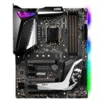 Дънна платка MSI MPG Z390 GAMING PRO CARBON, Z390, LGA1151, DDR4, PCI-Е (DP&HDMI)(SLI&CF), 6x SATA 6Gb/s, 2x M.2 slot, 1x USB 3.1 (Gen 2, Type-A), ATX image