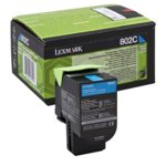 Касета за Lexmark CX310/410/510 - Cyan - P№ 80C20C0 - 1 000K image