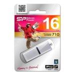 16GB USB Flash Drive, Silicon Power LuxMini 710, USB 2.0, сребриста image