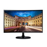 "Монитор Samsung C24F390FHUX (LC24F390FHUXEN), 23.5"" (59.69 cm) VA панел, Full HD, 4ms, 5 000 000:1, 250cd/m2, HDMI, VGA image"