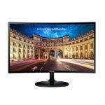 """Монитор Samsung C24F390FHUX (LC24F390FHUXEN), 23.5"""" (59.69 cm) VA панел, Full HD, 4ms, 5 000 000:1, 250cd/m2, HDMI, VGA image"""