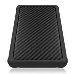 """Кутия 2.5"""" (6.35 cm), RaidSonic IB-223U3a-B, за 2.5"""" SATA HDD/SSD, USB 3.0, черна image"""
