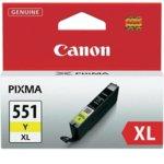 Касета за Canon PIXMA iP7250/MG5450/MG6350 - CLI-551Y-XL - Yellow - заб: 650k image