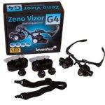 Увеличителни очила Levenhuk Zeno Vizor G4, 25x увеличение, 2 светодиодни лампи,  image