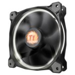 Вентилатор 120mm Thermaltake Riing 12 LED White, 3-пинов, 1500 rpm image
